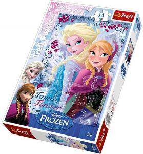 24 MAXI dílků  - Frozen - Ledové království - puzzle Trefl