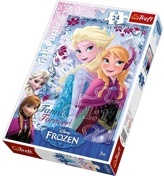 Puzzle Trefl 24 MAXI dílků - Frozen - Ledové království - Trefl 14225