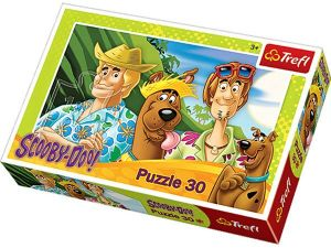 Puzzle  Trefl  - 30 dílků  - Scooby Doo