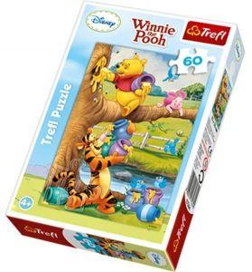 60 dílků - Medvídek Pú  -  puzzle   Trefl  17264