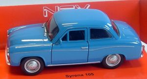 Syrena 105  - blue -  1:34  Welly
