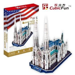 3 D Puzzle CubicFun - Katerdála Saint Patrick´s - 117 dílků