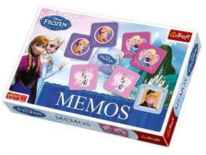 Hra Trefl  -  Memos - Pexeso - Frozen - Ledové království  01209
