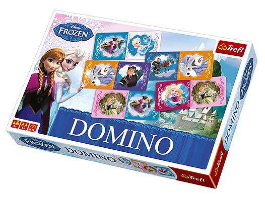 Obrázkové domino - Frozen - Ledové království - Trefl