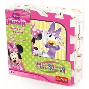Pěnové puzzle - koberec - Minnie Mouse Trefl