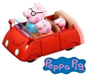 Prasátko PEPPA - autíčko - zmáčkni a jeď