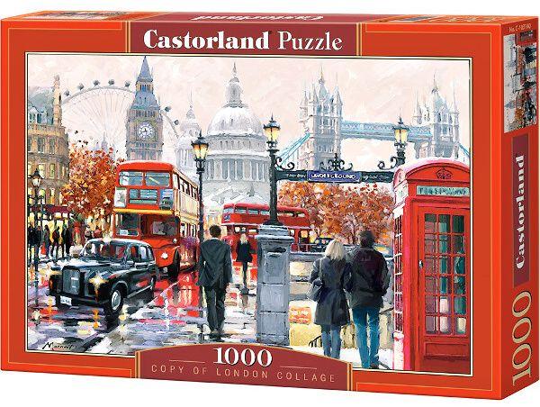 Puzzle Castorland 1000 dílků COPY : Londýn art 103140