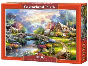 Puzzle Castorland 1000 dílků - Jaro nad řekou - 103171