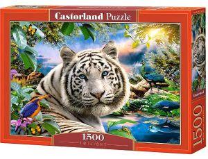 Castorland - Puzzle 1500 dílků  Twilight - Bílý tygr