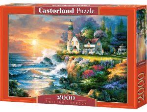 Puzzle Castorland 2000 dílků   James Lee   Maják za soumraku  200528