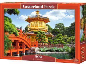 Puzzle Castorland 500 dílků  - Nádhera v Číně