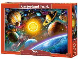 Puzzle Castorland 500 dílků - Planety sluneční soustavy   art. 52158