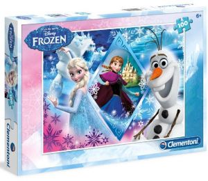 Puzzle Clementoni 100 dílků  - Frozen - Ledové království