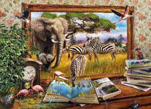 Puzzle Clementoni 1000 dílků - Come to life  - 39296