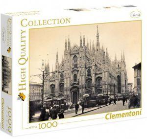 Puzzle Clementoni 1000 dílků - Mediolan - Miláno 1910 - 1915