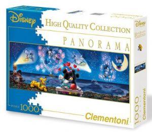 Puzzle Clementoni 1000 dílků  panorama  - Mickey Mouse  39287