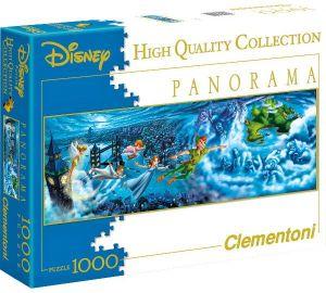 Puzzle Clementoni 1000 dílků - panorama   -  Petr Pan