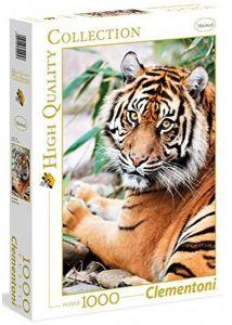 Puzzle Clementoni 1000 dílků - Tygr  -