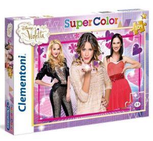 Puzzle Clementoni 104 dílků  - Violetta -