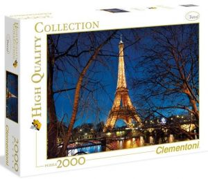 Puzzle Clementoni 2000 dílků - Paříž
