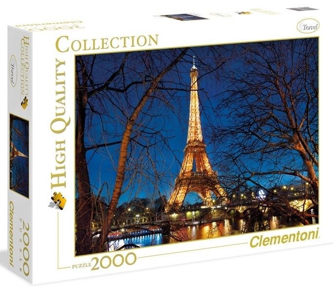Puzzle Clementoni 2000 dílků - Paříž , Clementoni 32554