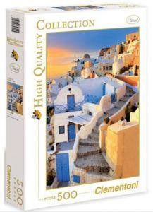 Santorini - Řecko  - Puzzle Clementoni 500 dílků