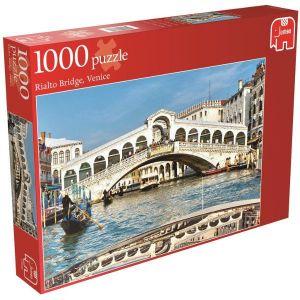 Puzzle Jumbo 1000 dílků - Most Rialto - Benátky