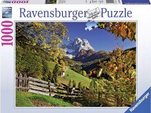 Puzzle Ravensburger 1000 dílků - Monte Pelmo - Itálie    194230