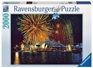2000 dílků  Ohňostroj nad Sydney -   puzzle Ravensburger