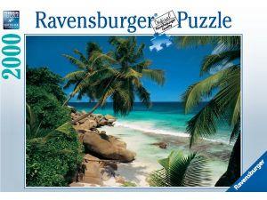 Puzzle Ravensburger 2000 dílků  -  Seyschelly  813667
