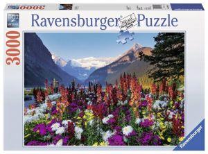 3000 dílků   Rozkvetlé hory  -   puzzle Ravensburger