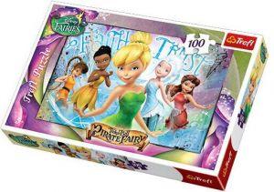 100 dílků - Víly - Disney -  puzzle   Trefl 16256