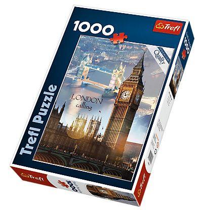 Puzzle Trefl 1000 dílků Londýn za svítání - Trefl 10395