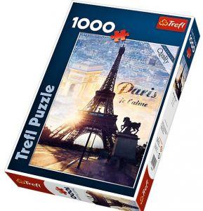 Puzzle Trefl 1000 dílků  Paříž  za svítání  -   Trefl 10394