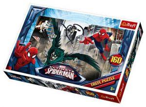 160 dílků - Spiderman -  puzzle   Trefl 15319