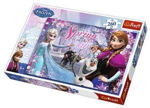 Puzzle Trefl 260 dílků - Frozen - Ledové království