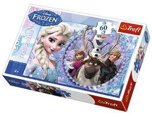 Puzzle Trefl 60 dílků  Frozen - Ledové království 17275