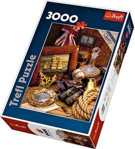3000 dílků  Námořní  historie  -  puzzle Trefl 33043