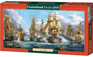 Puzzle 4000 dílků - Námořní bitva  -    Castorland  400102