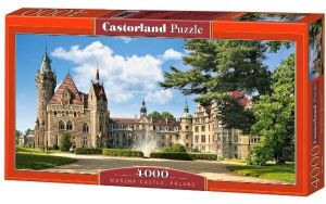 CASTORLAND Puzzle 4000 dílků Zámek Moszna, Polsko  400027