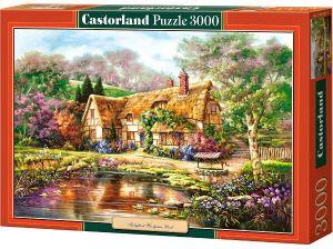 Castorland - Puzzle 3000 dílků  - Malovaná chaloupka  300365