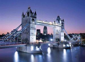 Clementoni Puzzle 33527 Londýn Tower Bridge 3000 dílků