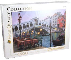 CLEMENTONI Puzzle 1500 dílků Benátky