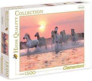 Clementoni Puzzle Koně ve vodě HQC 1500 dílků