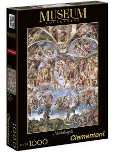 Clementoni Puzzle 1000 dílků Michelangelo, Poslední soud