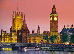 Clementoni puzzle 500 dílků Večerní Londýn