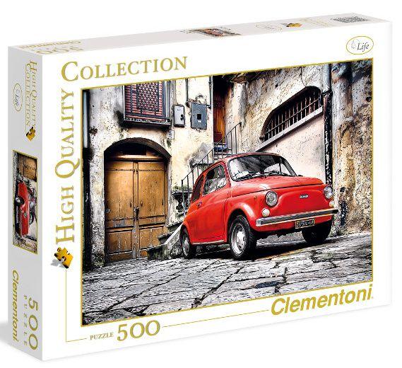 CLEMENTONI Puzzle 500 dílků Italský styl