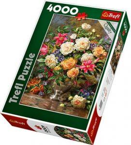 Puzzle TREFL 4000 dílků - A.Williams: Květiny pro královnu Alžbětu