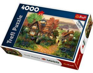 TREFL Puzzle 4000 dílků Richard Telford: Rybářský přístav