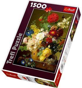 Trefl 26120 Zátiší s květinami 1500 dílků